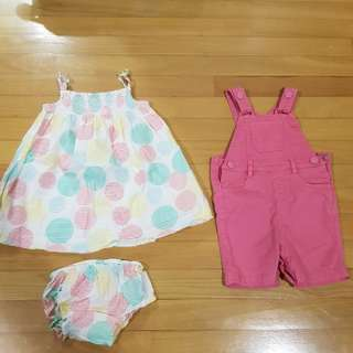 Mothercare Baby Girl Clothes  size 6-9 mths