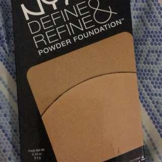 NYX REFINE AND DEFINE