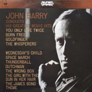In Nm vg+ john barry conducts greatest movie hits themes record vinyl ost