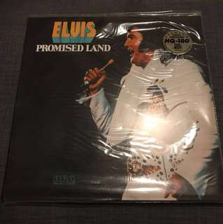 Elvis Promised Land -Gold Vinyl Lp Record Friday Music