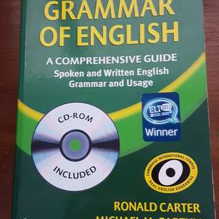 Grammar of English with CD Rom