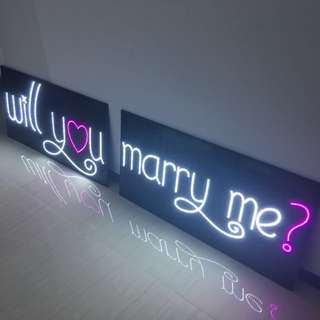"""Rental """"Will you marry me?"""" Proposal Signboard"""
