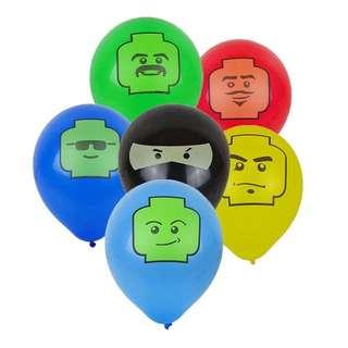 💥 Lego party supplies - Lego latex balloons / party deco