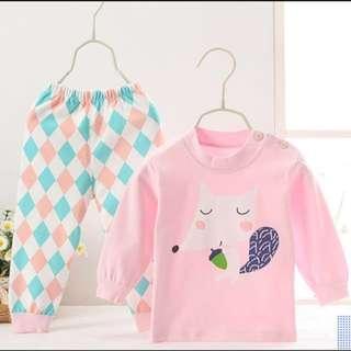 *INSTOCK* Pink Children Pyjamas