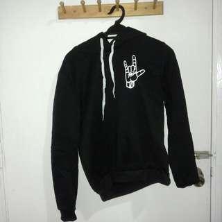 [INC POSTAGE] Black oversized hoodie