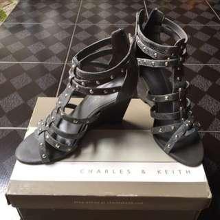 Sepatu Wedges Gladiator Charles & Keith