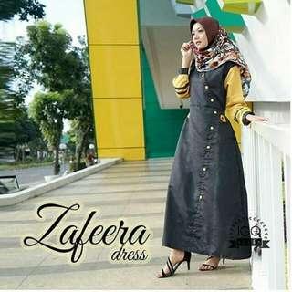 ZAFEERA DRESS BLACK