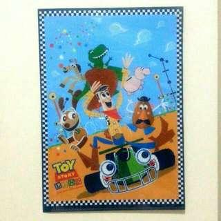 Toy Story File  Folder 香港迪士尼樂園 Woody 胡迪 彈弓狗 反斗奇兵 文件夾 Hong Kong Disneyland