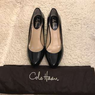 Cole Haan patent Black high heels with Nike Air!
