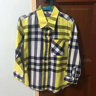 [CLEARANCE] Boy's Long Sleeve Shirt