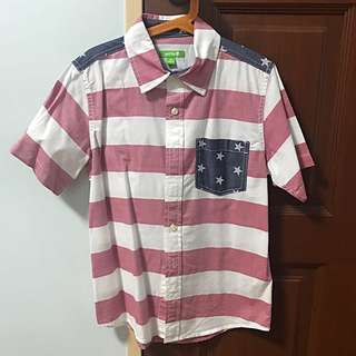 [CLEARANCE] Boy's Shirt Sleeve Shirt