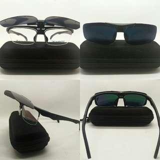 Frame kacamata sport clip on kurkovf