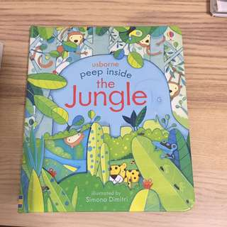 Usborne Peep inside the jungle