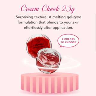 (PO) Canmake Cream Cheek 2.3g [7 Colors To Choose]