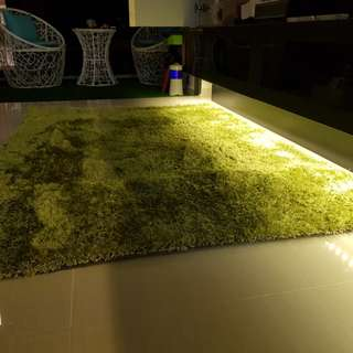 Rugs Lime Green
