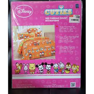 Disney Donald Duck - Single Fitted Sheet Set