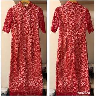Beautiful Lace Cheongsam Qipao Dress