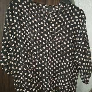 Chiffon 3/4 blouse