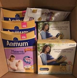Enfamama Anmum Similac Mom Trial Pack