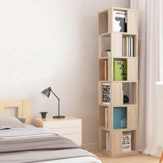 Rotating Display Shelves/ BookCase #Huat50Sale