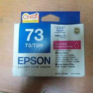 EPSON打印機 紅色全新墨盒