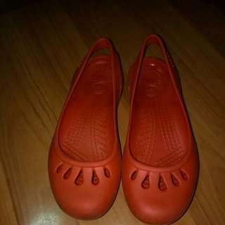 Crocs autjentic red sandals