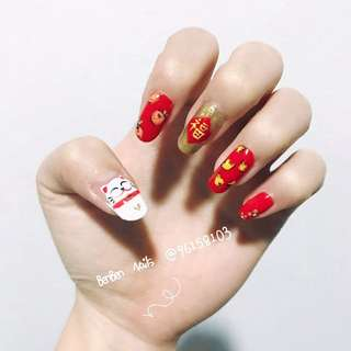 Chinese New Year Manicure