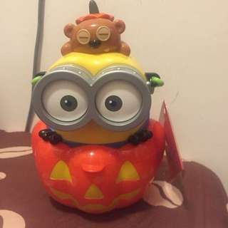 Minions Bob Halloween Candy Box 糖果桶