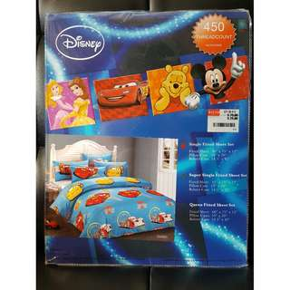 Disney Macquin Car - Single Fitted Sheet Set