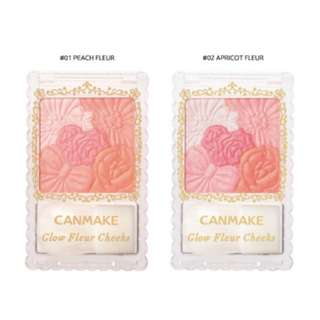 (PO) Canmake Glow Fleur Cheeks [6 Colors To Choose]