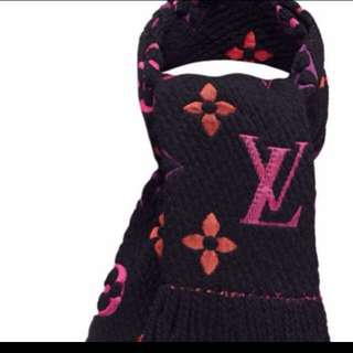 Authenthic Rainbow Logo Mania scarf