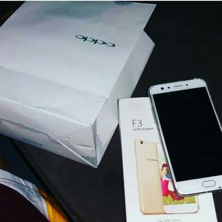 Repriced 👍👌 OPPO F3 Rosegold 64 Gig for sale and open for swap