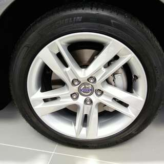 17inch rims & tyres