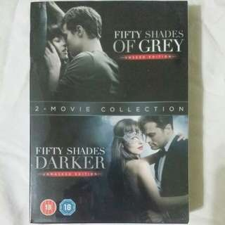 [Movie Empire] Fifty Shades Of Grey / Fifty Shades Darker Movie DVD