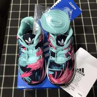 BNWT Adidas ZX FLUX EL I Toddler Shoes