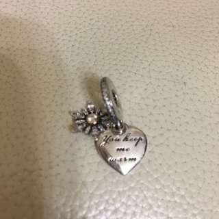 Pandora charm-snowflakes
