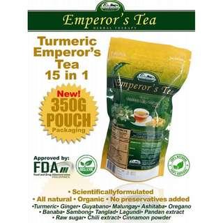 Emperor's Tea 15 in 1 Herbal tea ( Turmeric ) 350g