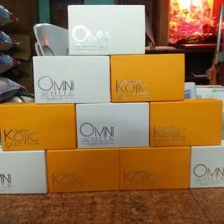 Omni white soap and Kojic