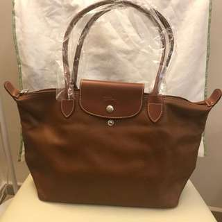 Longchamp -  Leather Shoulder Bag 袋 真皮