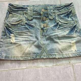 Jeans skirt japan