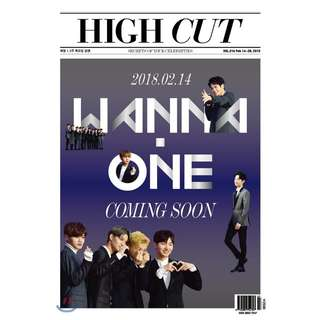 [Pre-Order] Wanna One High Cut Vol. 216