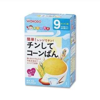 [訂]日本 Baby food 微波爐/蒸蛋糕 三款味道 嬰兒食品