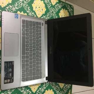Jual Laptop Asus X450CA-WX243D Ram 2gb