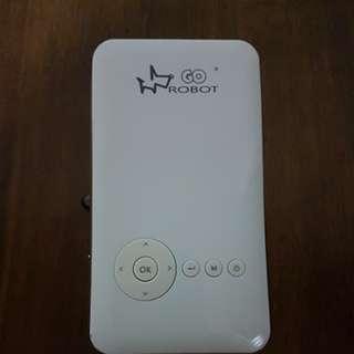 Wireless mini projector true hd