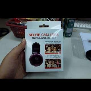 Wide angle selfie camera lens