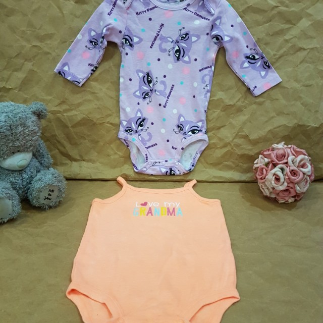 2 set of Carter's outfit