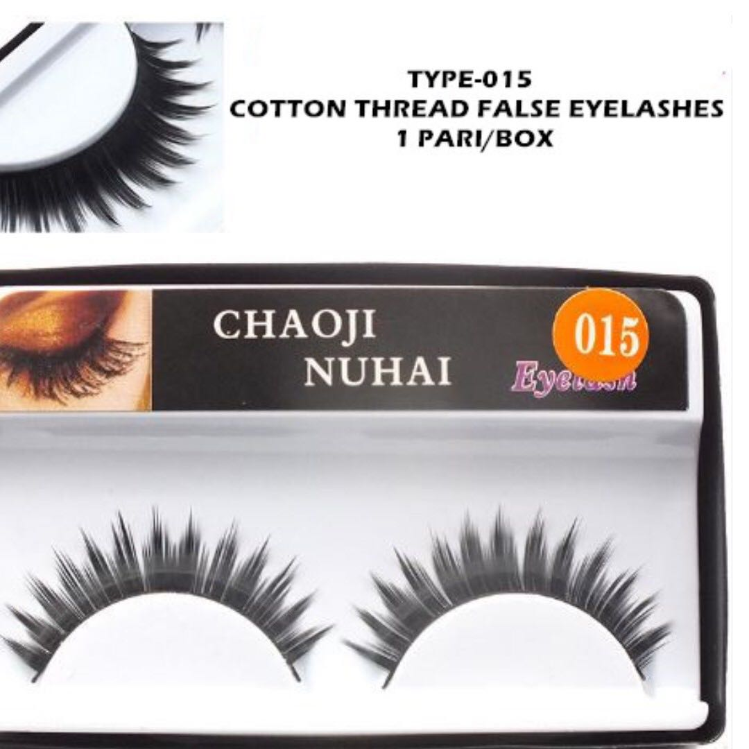 4typesfake Eyelashes Health Beauty Makeup On Carousell