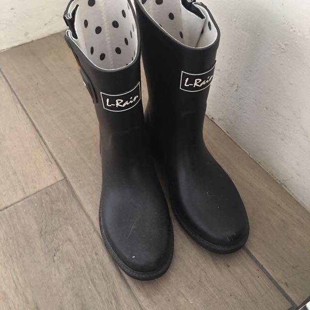 韓國—雨靴(黑)