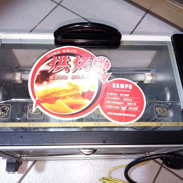 聲寶電烤箱