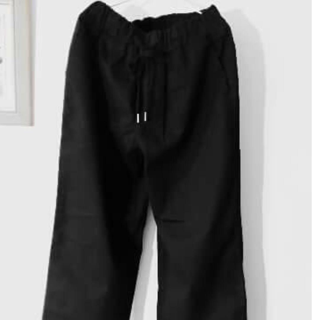 全新 韓國寬褲